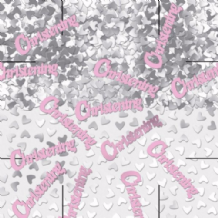 Christening Pink Table Confetti (14g) 1PK